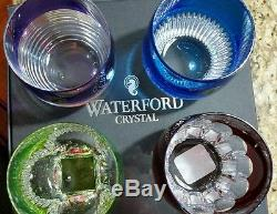 Waterford Crystal Mixology Double Old Fashioned Color Glasses