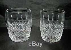 Waterford Crystal Pair of Glenmede Double Old Fashioned Glasses