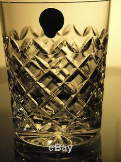 Waterford Crystal Powerscourt WhiskeyTumbler Pair Double Old Fashioned Brand New