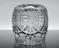 Waterford Crystal Rare Seahorse Pattern Double Old Fashioned
