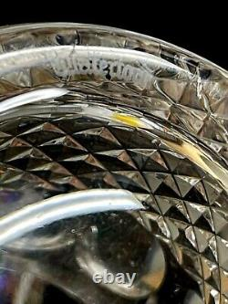 Waterford Crystal Retired Colleen Pattern Double Old Fashioned Glass
