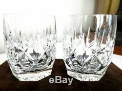 Waterford Crystal WESTHAMPTON Double Old Fashioned Glasses DOF'S SET / 2 MINT