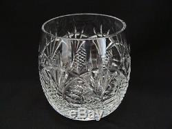 Waterford Double Old Fashioned Glass Seahorse Pattern