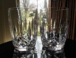 Waterford Irish Crystal Kildare 4 1/2 Double Old Fashioned Tumbler (12) Ireland