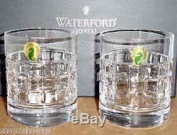 Waterford LONDON Double Old Fashioned Tumbler (SET/2) Contemporary 162015 New