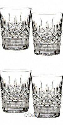 Waterford Lismore 12 oz Double Old Fashioned DOF Pair Two Pairs #5493182120 New