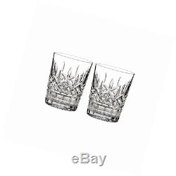 Waterford Lismore 12 oz Double Old Fashioned, Set of 2