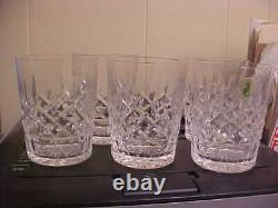 Waterford Lismore 4 3/8 12 Ounce Double Old Fashioned Tumblers (Set Of 5)