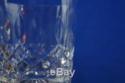 Waterford Lismore (5) Double Old Fashioned Glasses, 4 1/4