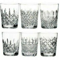 Waterford Lismore Connoisseur Heritage Double Old Fashioned 13.5 oz Set of 6