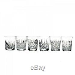 Waterford Lismore Connoisseur Heritage Double Old Fashioned Set of 6 # 40025987