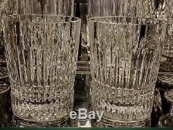 Waterford Lismore Diamond DOF Double old Fashioned Set of 2 Glasses Brand New