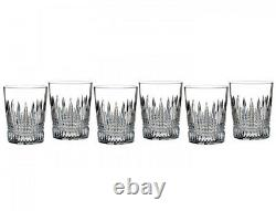 Waterford Lismore Diamond DOF Double old Fashioned Set of 6 Glasses 40003652 New