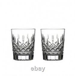 Waterford Lismore Double Old Fashioned 12 oz Set of 2