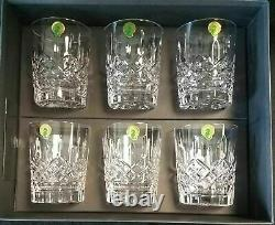 Waterford Lismore Double Old Fashioned 12 oz. Set of 6