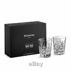 Waterford Lismore Double Old Fashioned 12oz Set of 2