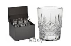 Waterford Lismore Double Old Fashioned Glasses, Deluxe Gift Box Set of 6 DOF