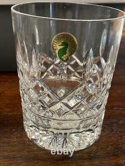 Waterford Lismore Double Old Fashioned Glasses Set Of 3