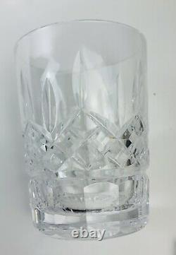Waterford Lismore Double Old Fashioned Glasses Set of 5