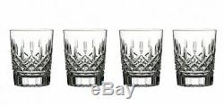 Waterford Lismore Double Old Fashioned Set of 4