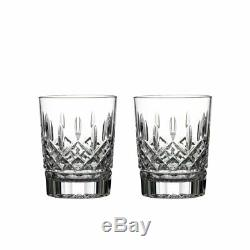 Waterford Lismore Double Old-Fashioned Tumbler Glasses, Set of 2