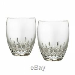 Waterford Lismore Essence Double Old Fashioned Pair 2 Pairs 4 glasses #151741