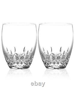 Waterford Lismore Essence Double Old Fashioned Set of 2