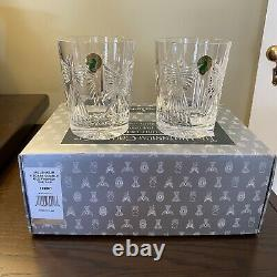 Waterford Millennium Millenium Universal 5 Toast Double Old Fashioned Dof New Ib