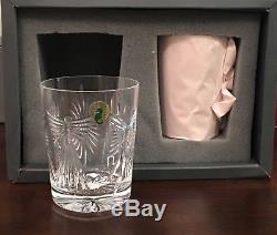Waterford Millennium Millenium Universal 5 Toast Double Old Fashioned New In Box