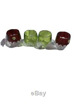 Waterford Mixology 4 Double Old Fashioned Glasses Tumblers