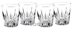 Waterford Southbridge Crystal Double Old Fashioned Glasses 8367 Set of 4