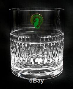 Waterford Stemless Whiskey/Double Old Fashioned Glasses SET/4 NWT