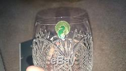Waterford crystal seahorse double old fashioned glasses (Pair) new in box