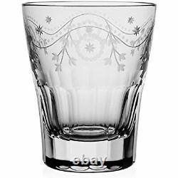 William Yeoward Crystal BUNNY TUMBLER DOUBLE OLD FASHIONED Glass 14 oz # 801536