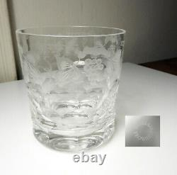 William Yeoward Crystal CORDELIA 4 1/4 Double Old Fashioned Glass DOF, Mint